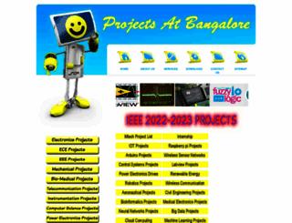 projectsatbangalore.com screenshot