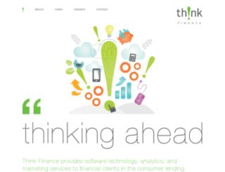 projectserver.thinkfinance.com screenshot