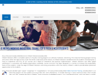 projectsinternship.com screenshot