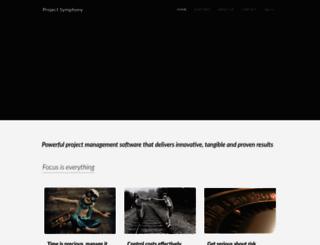 projectsymphony.com.au screenshot
