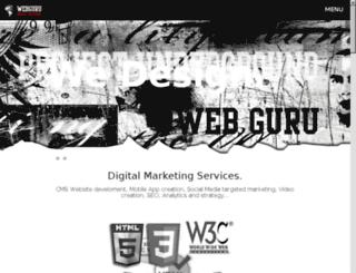 projectunderground.vze.com screenshot