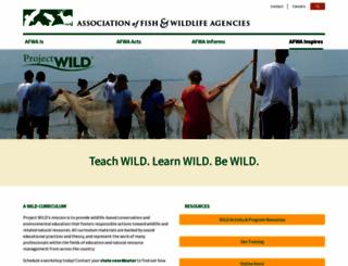 projectwild.org screenshot