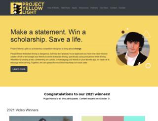 projectyellowlight.com screenshot