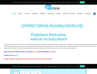 projektantnadrukow.com.pl screenshot
