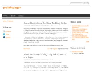 projektdagen.drupalgardens.com screenshot