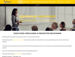 projektid.ee screenshot