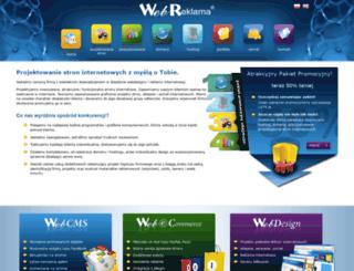 projektowaniestron.eu screenshot