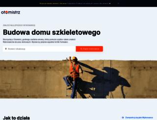projektydompl.pl screenshot