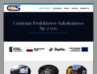 projektyeu.pl screenshot