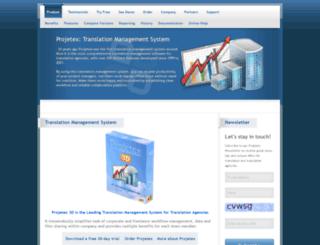 projetex.com screenshot