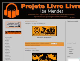 projetolivrolivre.com screenshot