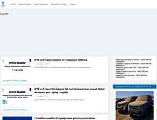 projets-fin-etudes.blogspot.com screenshot
