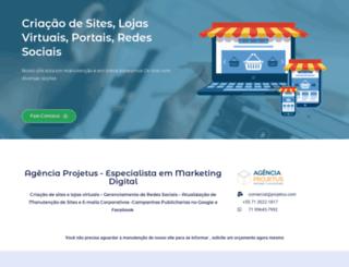 projetus.com screenshot