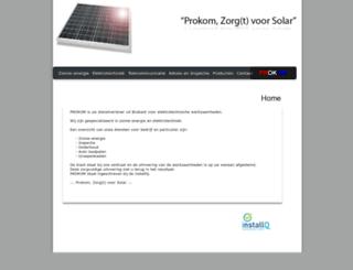prokom.nl screenshot