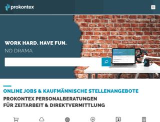 prokontex.de screenshot