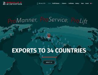 prolift.com.tr screenshot