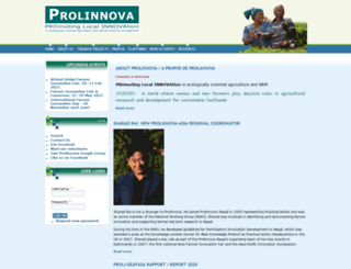 prolinnova.net screenshot
