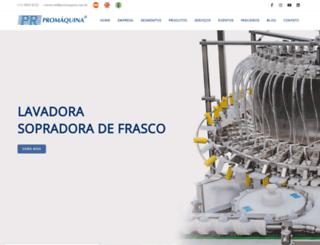 promaquina.com.br screenshot