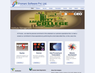 promarc.co.in screenshot