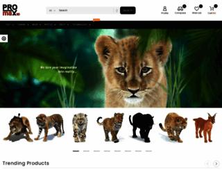 promax3d.com screenshot