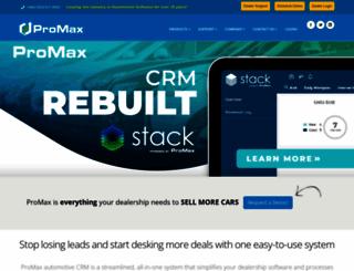 promaxunlimited.com screenshot