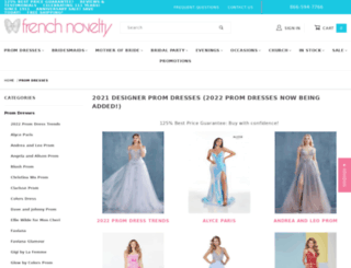 promdresses.frenchnovelty.com screenshot