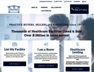 promed-financial.com screenshot