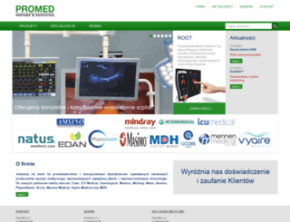 promed.com.pl screenshot