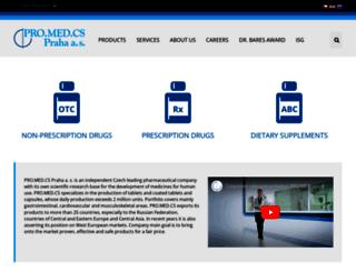 promed.cz screenshot