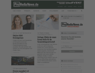 promedianews.de screenshot