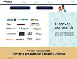 promedics.ca screenshot