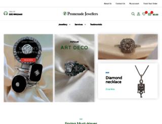 promenadejewellers.com.au screenshot