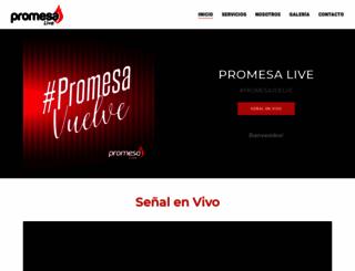 promesastereo.com screenshot