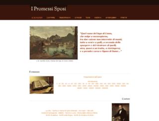 promessisposi.weebly.com screenshot