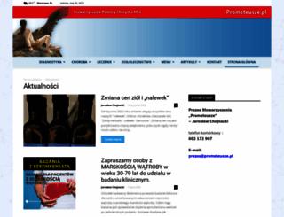prometeusze.pl screenshot
