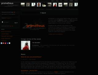 prometheus-bildarchiv.de screenshot