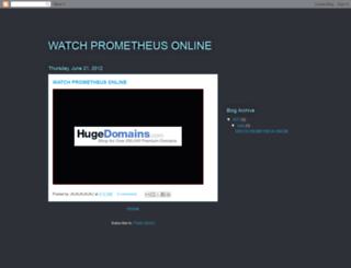 prometheusfullonline.blogspot.se screenshot