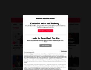 promiflash.de screenshot