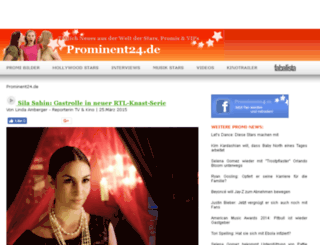 prominent24.de screenshot