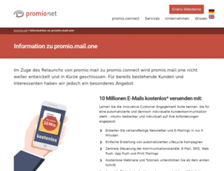 promio-mail.com screenshot