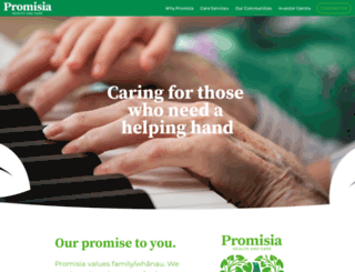 promisia.com screenshot