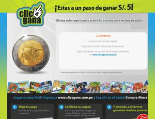 promo-clicygana.intralot.com.pe screenshot