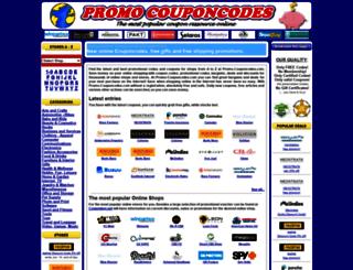 promo-couponcodes.com screenshot