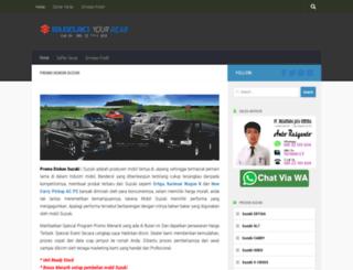 promo-suzuki-bandung.com screenshot