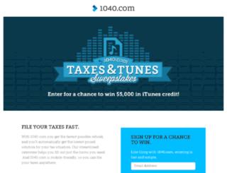 promo.1040.com screenshot