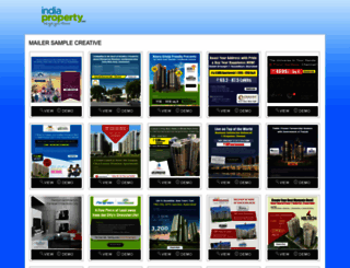 promo.indiaproperty.com screenshot
