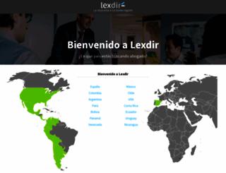 promo.lexdir.com screenshot