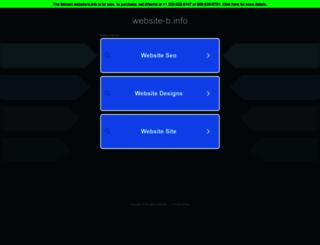 promo.website-b.info screenshot