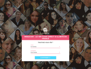 promo.weezchat.fr screenshot