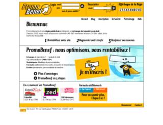 promobenef.com screenshot